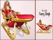 Boudoir Christmas-Wearable Fancy Sleigh