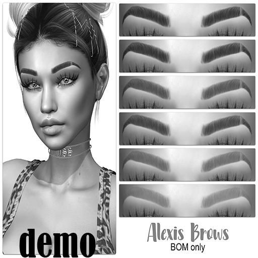 .:the HAUS:. - Alexis BOM Eyebrows (Catwa) DEMO