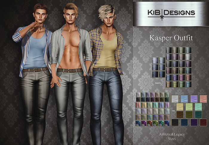 KiB Designs - Kasper Outfit FATPACK