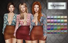 "KiB Designs - Vivian Dress FATPACK ""Wear"""