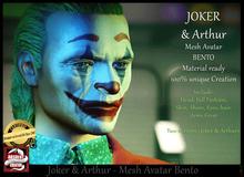 *!* Joker & Arthur - two full Avatar Bento -