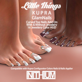 [ INITHIUM ] LITTLE THINGS_GLAMNAILS FOR KUPRA