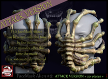*!* FaceMask Alien #2 Attack Version