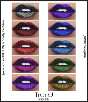 TREND - Maleficient Lips - Fatpack