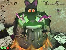 [MF] Halloween spooky cauldron bat bath (boxed)