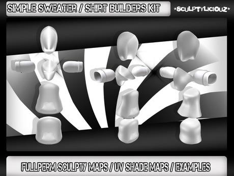 Simple Sweater / Shirt Builders Kit