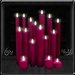 ~*LT*~ Cluster of Candles - Pink