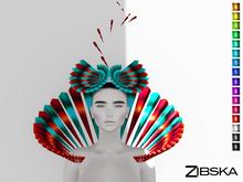 Zibska ~ Angelien Color Change Headpiece and Collar