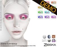 Zibska ~ Elaine Eyemakeup Demos [lelutka/genus/laq/omega/tattoo/universal tattoo BOM]
