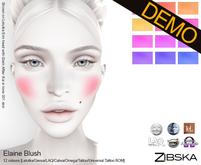 Zibska ~ Elaine Blush Demo [Lelutka/Genus/LAQ/Catwa/Omega/Tattoo/Universal Tattoo BOM]