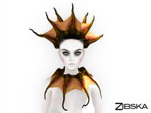 Zibska ~ Vritra Color Change Tentacles Headpiece and Collar