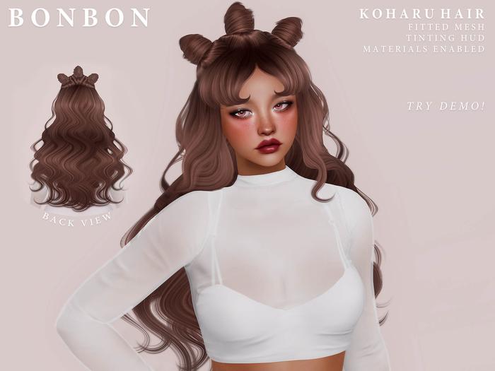 bonbon - koharu hair (naturals)