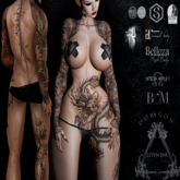 Leven Ink Tattoo - Doragon