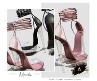 Vague. Mercedes Heels - Rose -