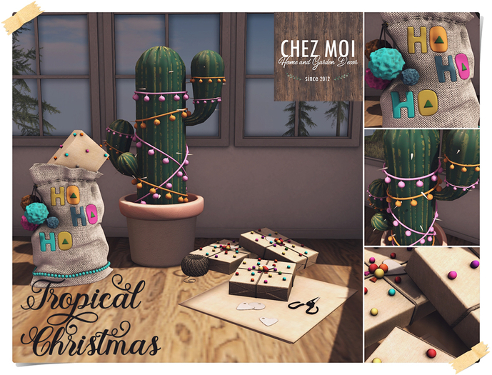 CHEZ MOI ♥ Tropical Christmas Set
