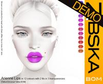 Zibska BOM Pack ~ Arienne Lips Demos [tattoo/universal tattoo BOM]