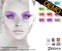Zibska ~ Finea Eyemakeup Demos [lelutka/genus/laq/catwa/omega/tattoo/universal tattoo BOM]