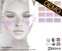 Zibska ~ Finea Blush Demos [lelutka/genus/laq/catwa/omega/tattoo/universal tattoo BOM]