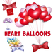 [ FULL PERM ] Heart Balloons Happy Valentine's day