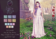 [QE] Vesta Gown -Light-
