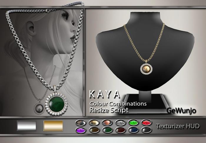 GeWunjo : KAYA necklace