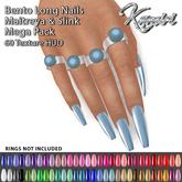 + Kamiri + Long Bento Nails Maitreya Slink 60 texture (ADD ME)