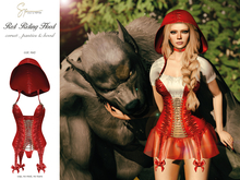 S&P Red Riding Hood corset red (wear to unpack)