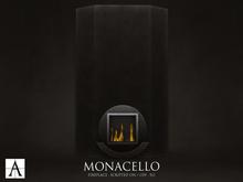 Architect. Monacello Fireplace (black)