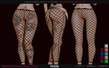 Pacagaia - Clover Fishnet Tights (BOM ONLY) - HUD // Wear me