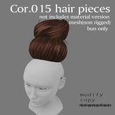 *booN Cor.015 hair pieces all color pack