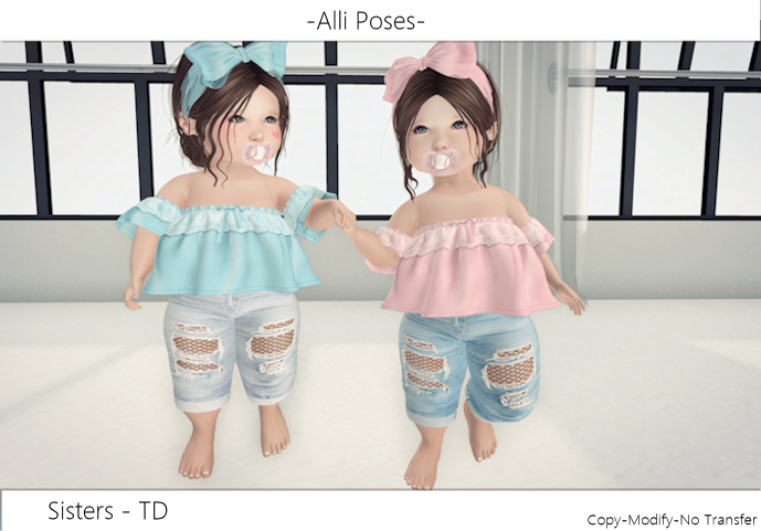 -Alli Poses - Sisters TD {Wear}
