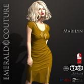 Marilyn Dress v2 Mustard