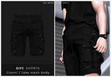 KAI - shorts DIFJ - [BLACK]