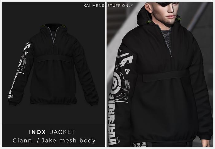 KAI - jacket INOX - [BLACK]