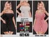 [hh] Emanuela Ruffle Dress [INITHIUM] KUPRA
