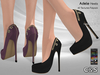 PROMO - C&S Adele Heels for Maitreya Lara, Slink, Belleza, Legacy, eBody, Signature, StarBody. 40 Text HUD. 5 metals