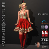 Cassidy Outfit Red