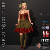 Cassidy Outfit Gold