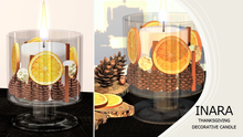 [ID] Thanksgiving Decorative Glass Jar