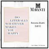 MAVANTI - Paintings - Happy [GIFT]