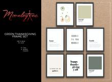 Moonley Inc. - Green Thanksgiving Frame Set