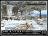 TMG - WHITE WATER RAPIDS - WINTER* Landscaped Waterfall Garden with 50 Animations