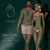 <<CRACK>> BODY PAINT VAN GOGH