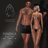 <<CRACK>> BODY PAINT MANDALA