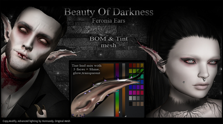 .:BoD:.Feronia Bom & Tint ears