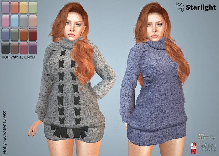 :: SA :: Holly - Sweater Dress - Fat Pack