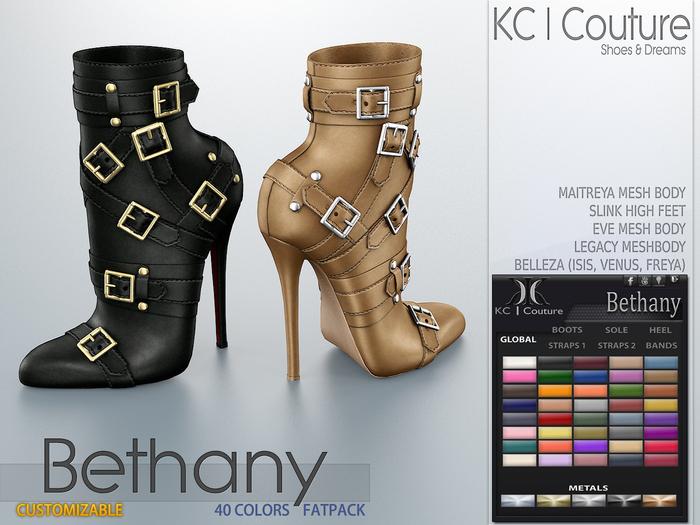-KC- BETHANY BOOTS / MAITREYA LEGACY SLINK BELLEZA
