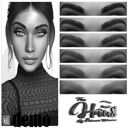 .:the-HAUS:. Nimble HD Eyebrows (LeL + LeL Evo X) DEMO