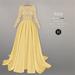 BEO - Yesenia wedding gown_Yellow