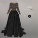 BEO - Yesenia wedding gown_Black